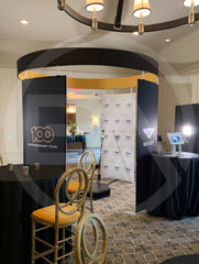 Fabric Booth Tent - The Oscar Enclosure