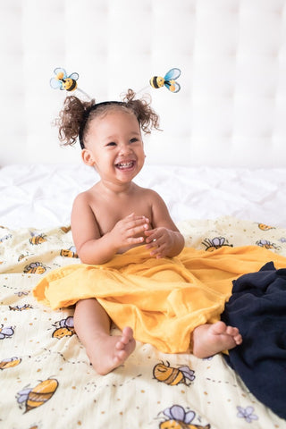 Bee Happy - Tula Baby Blanket Set