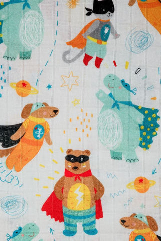 Super Pets - Tula Baby Blanket