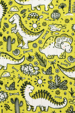 Cretaceous Party - Tula Baby Blanket