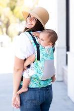 Coast Electric Leaves - Tula Free-to-Grow Baby Carrier