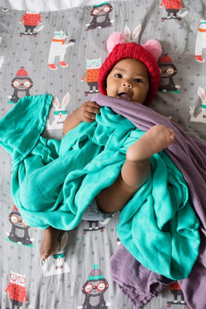 Just Chillin  - Tula Baby Blanket Set