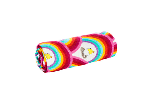 Rainbowtopia - Tula Cuddle Me Blanket