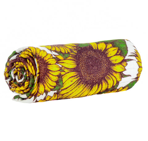Sunflowers - Tula Cuddle Me Blanket