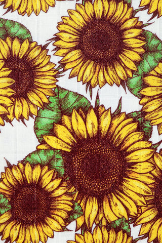 Sunflowers - Tula Baby Blanket