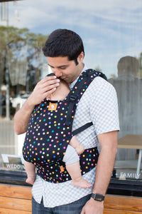 Confetti Dot - Tula Free-to-Grow Baby Carrier