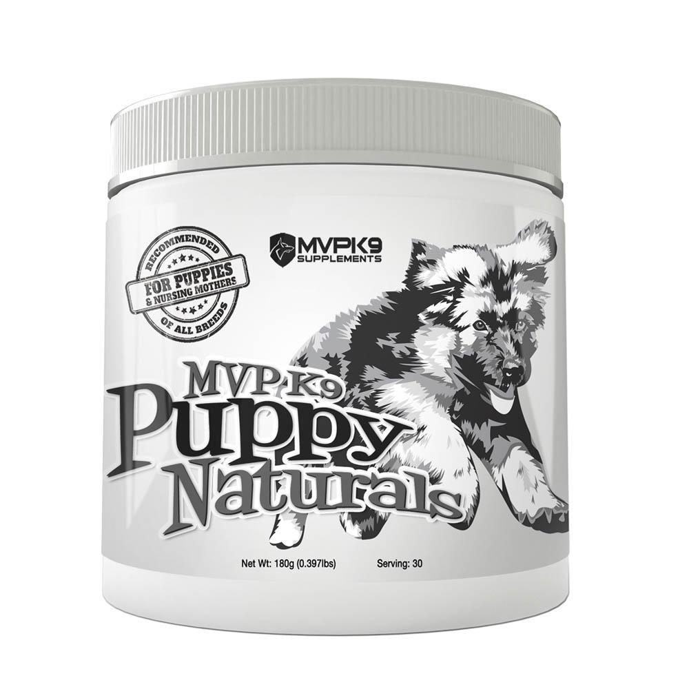 MVP K9 Puppy Naturals - Puppy Vitamins & Minerals for Growing Puppies.