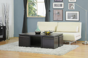 Riston Coffee Table and Ottoman Set