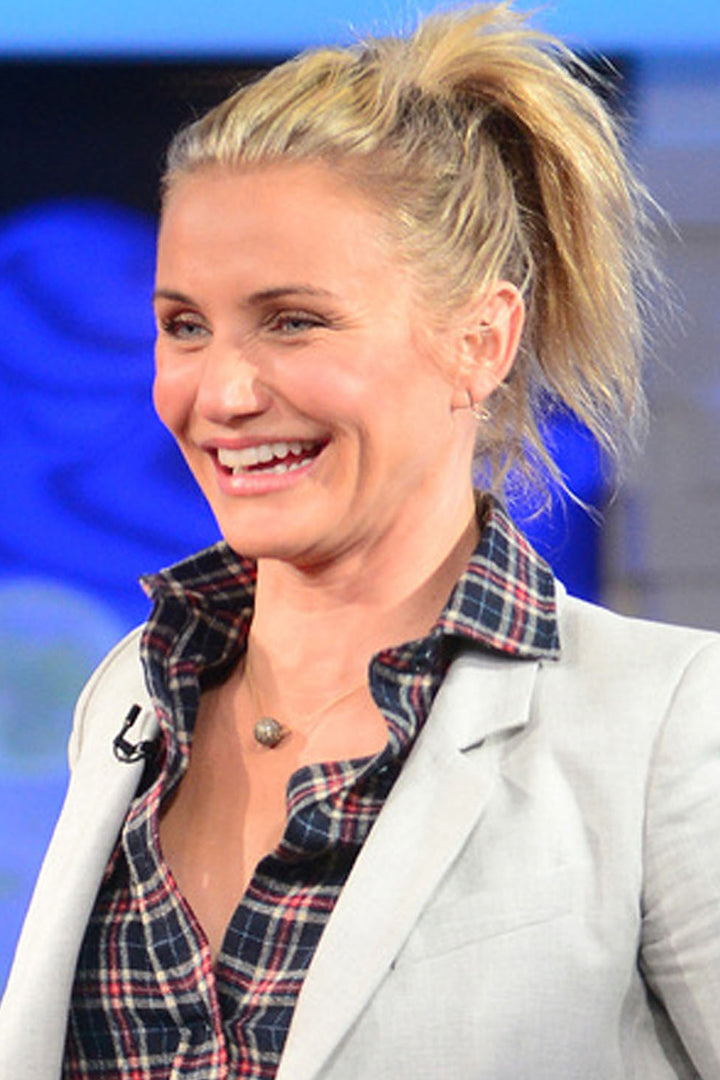 Cameron Diaz wearing the Tahitian Pearl on Chain