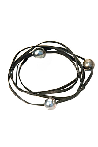 Red Tahitian Pearl Wrap