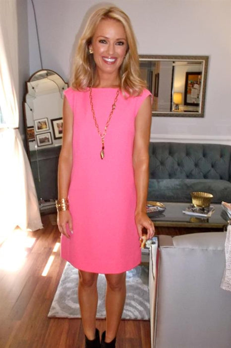 Brooke Anderson from The Insider wearing Pame Signature necklace