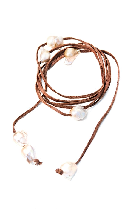 Fresh Water Baroque Pearl Lariat