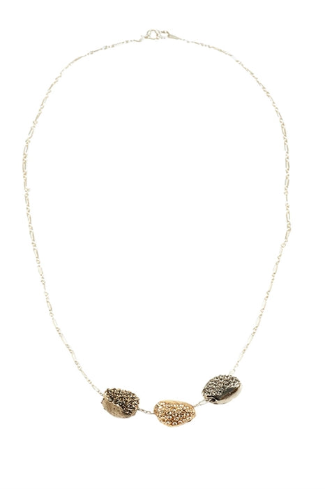 Gossip Girl's Lola wearing Pame Triple Pave' Nugget Necklace