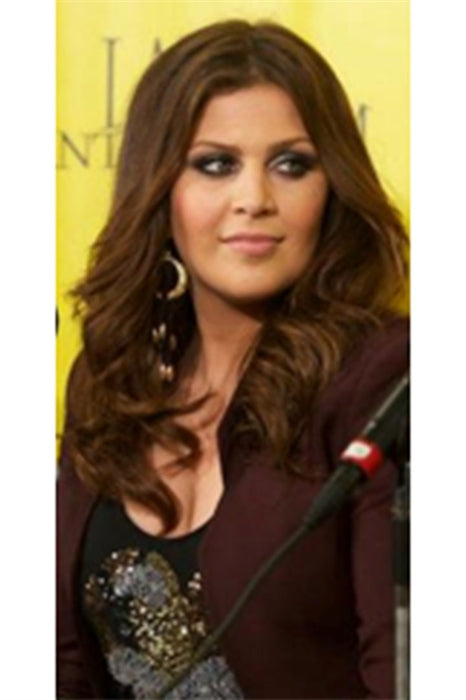 Hillary Scott from Lady Antebellum wearing Pame Fringe Hoop