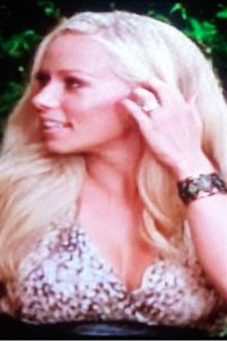 "Kendra Wilkinson wearing Pame Aspen Cuff with Studded Leather on ""Hollywood Girl's Night Out"""