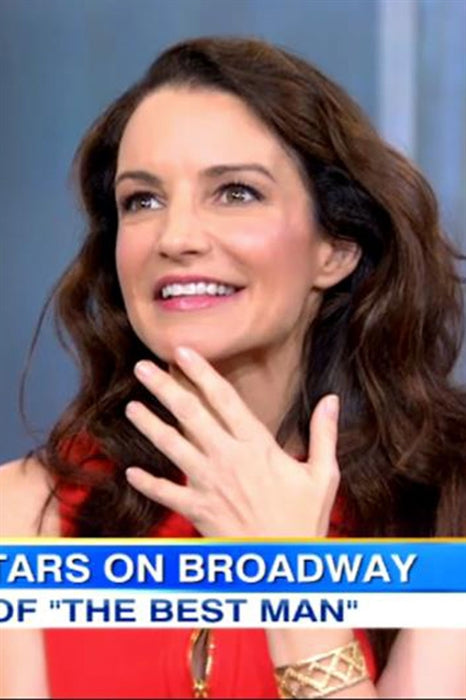 Kristin Davis wearing Pame Cut Out Cuff on Good Morning America