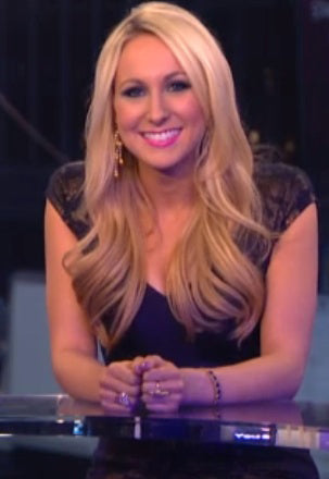 "MTV's Nikki Glaser from ""Nikki and Sara Live"" was seen wearing Double Stack Ring"