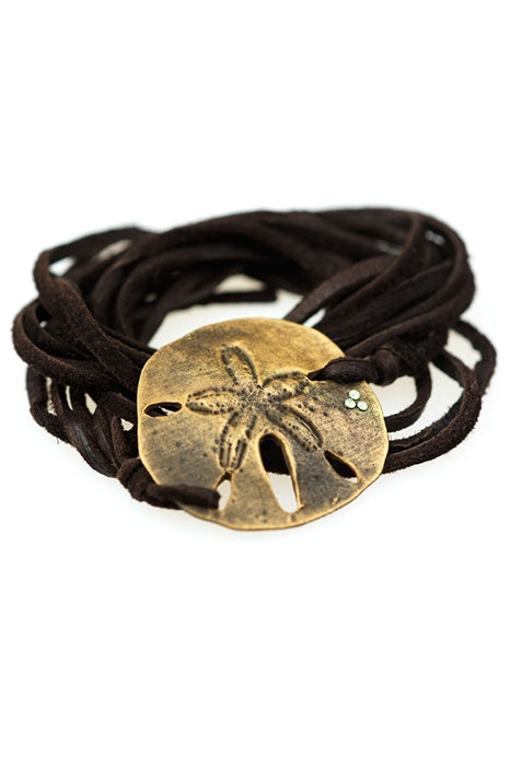 Sand Dollar Wrap-Gold Antique