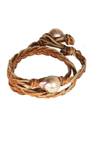 Cowrie Shell Wrap - 14kt Rose Gold