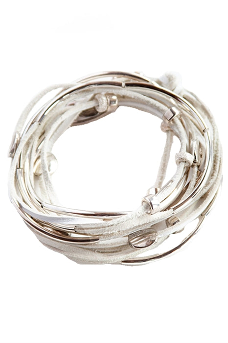 Sterling Silver Leatherette