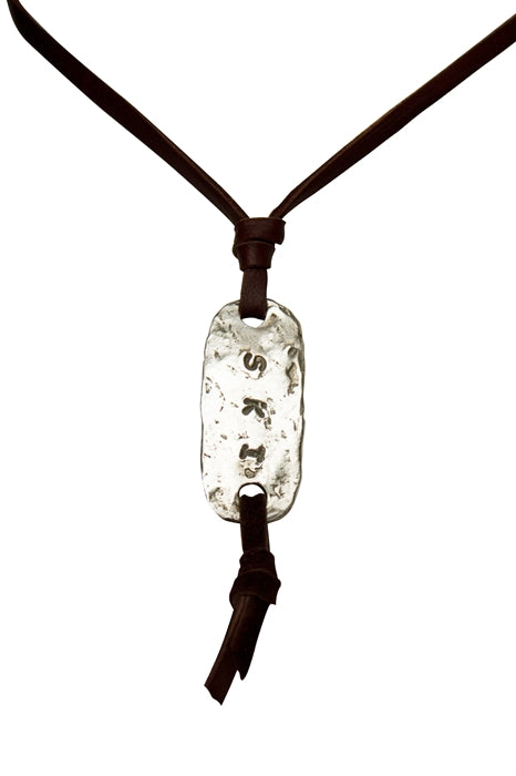 SKI Necklace ID Tag