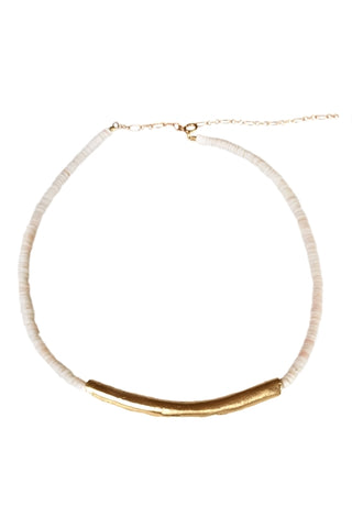 Single Baroque Pearl Surf Choker