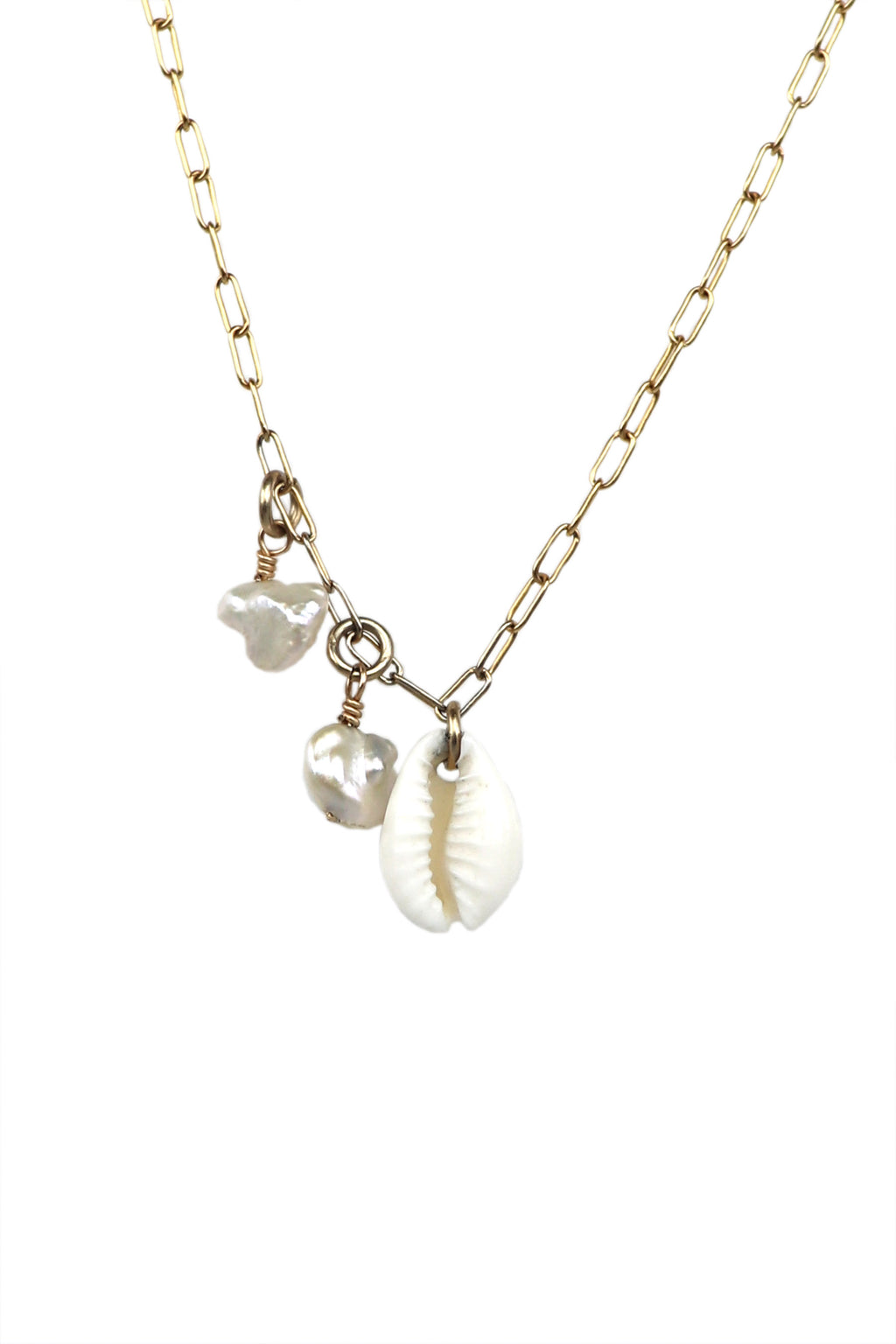 Dainty Cowrie and Pearl Cluster