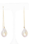 Baby Nugget 14kt Gold Earrings