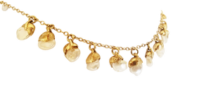 WATERFALL DIPPED PEARL NECKLACE
