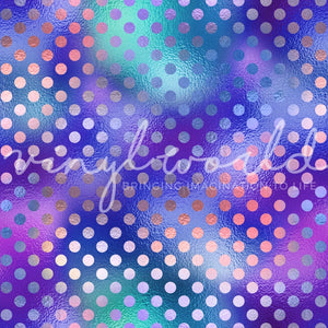 Vinyl World Pattern - Faux Foil Collection