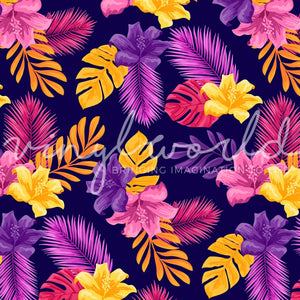 Vinyl World Pattern - Floral Collection