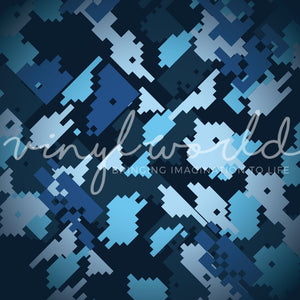 Vinyl World Pattern - Camo Collection