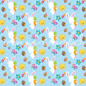 Vinyl World Pattern - Easter Collection
