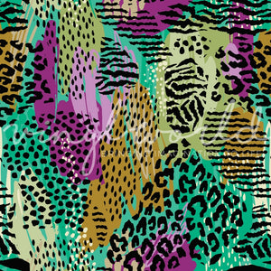 Vinyl World Pattern - Animal Print Collection