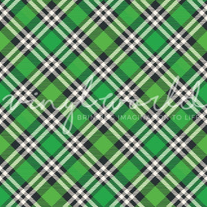 Vinyl World Pattern - Plaid Collection