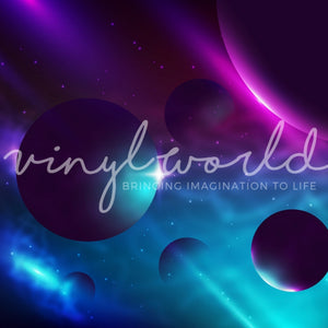 Vinyl World Pattern - Galaxy Collection