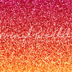 Vinyl World Pattern - Faux Glitter Collection