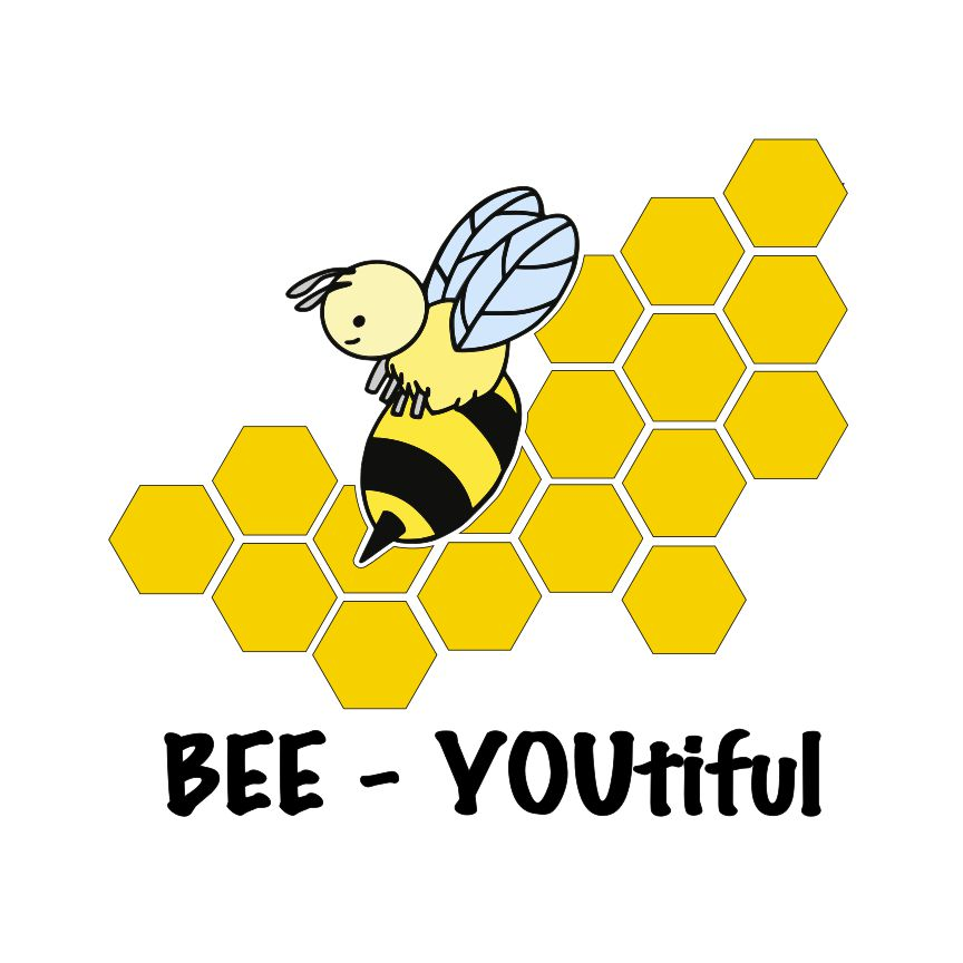BEE- YOUtiful SVG File