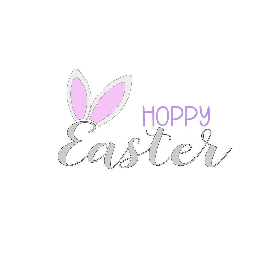 Hoppy Easter SVG File