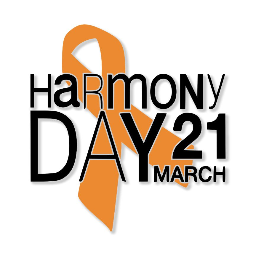 Harmony Day Ribbon SVG File