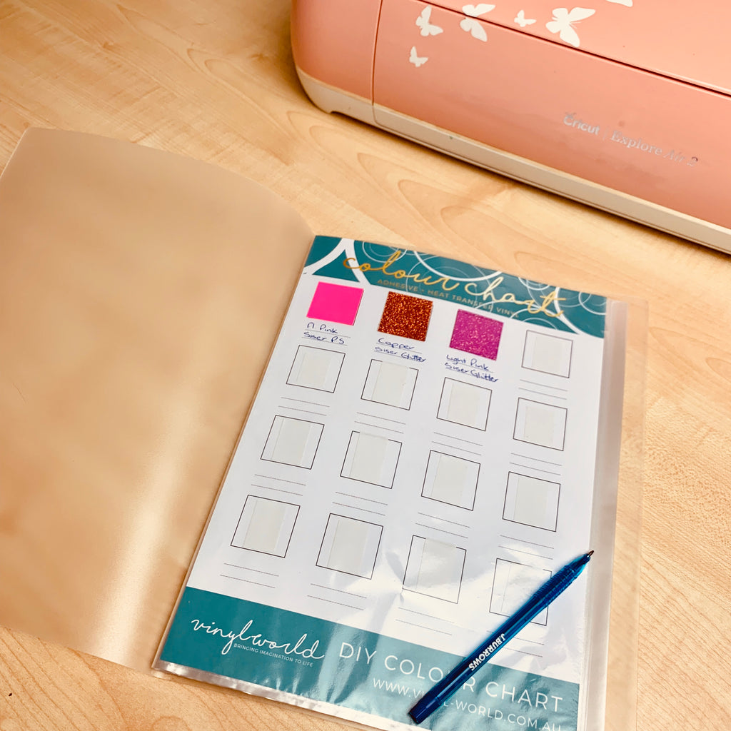 Print your own! DIY Colour Chart