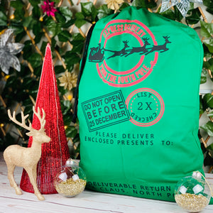 Christmas Santa Sacks - In stock