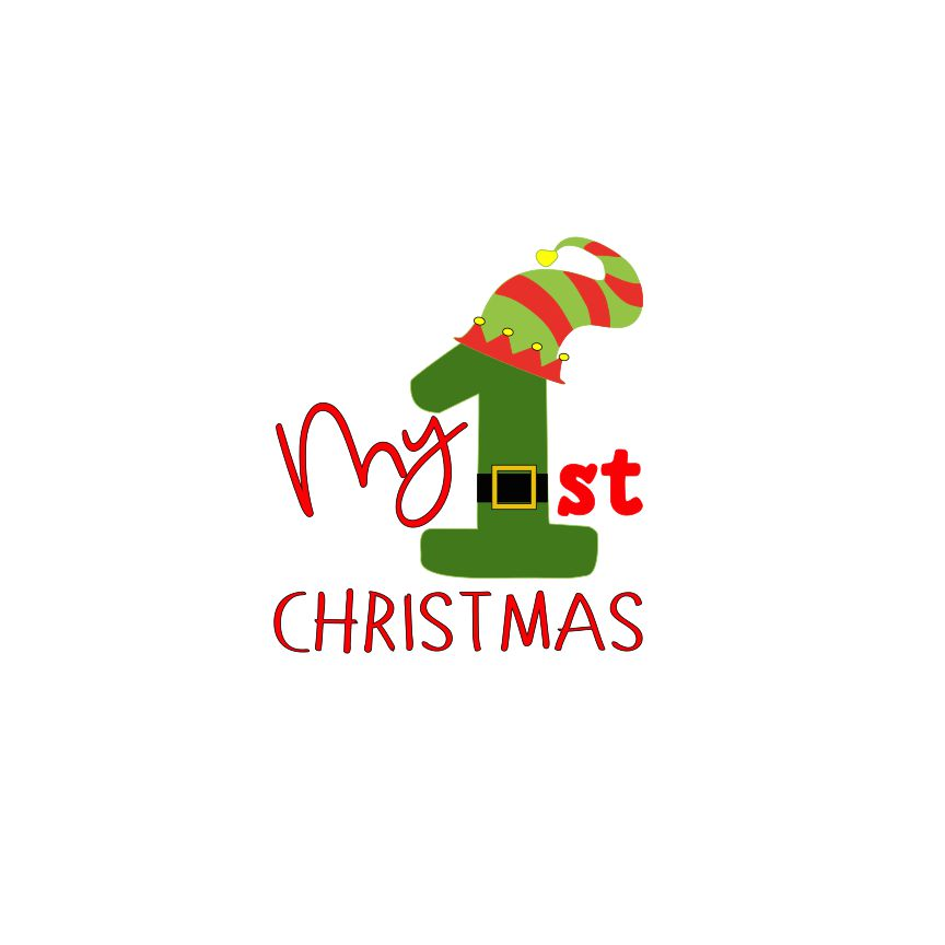 Day 12 My First Christmas Svg File Vinyl World