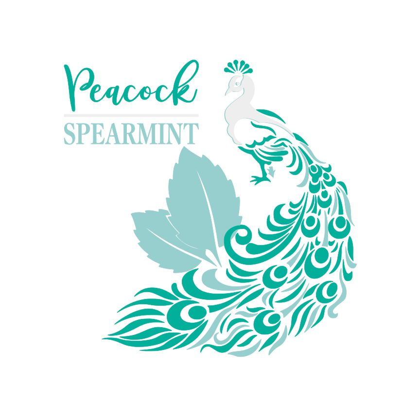 Spearmint and Peacock Teal SVG File