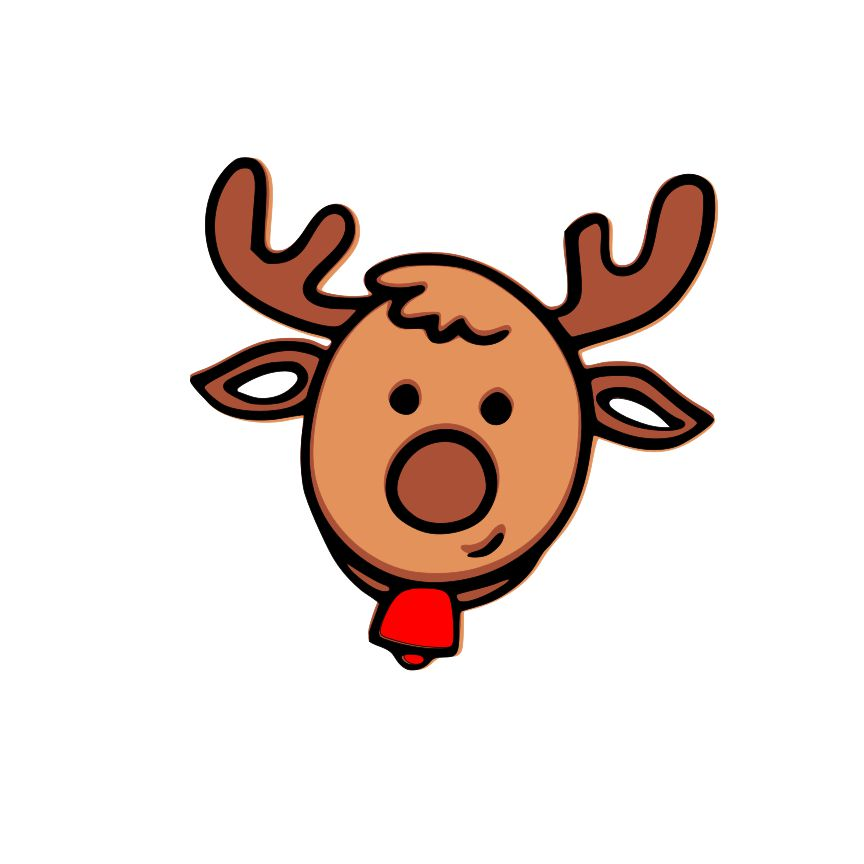 DAY 20 - Reindeer SVG File