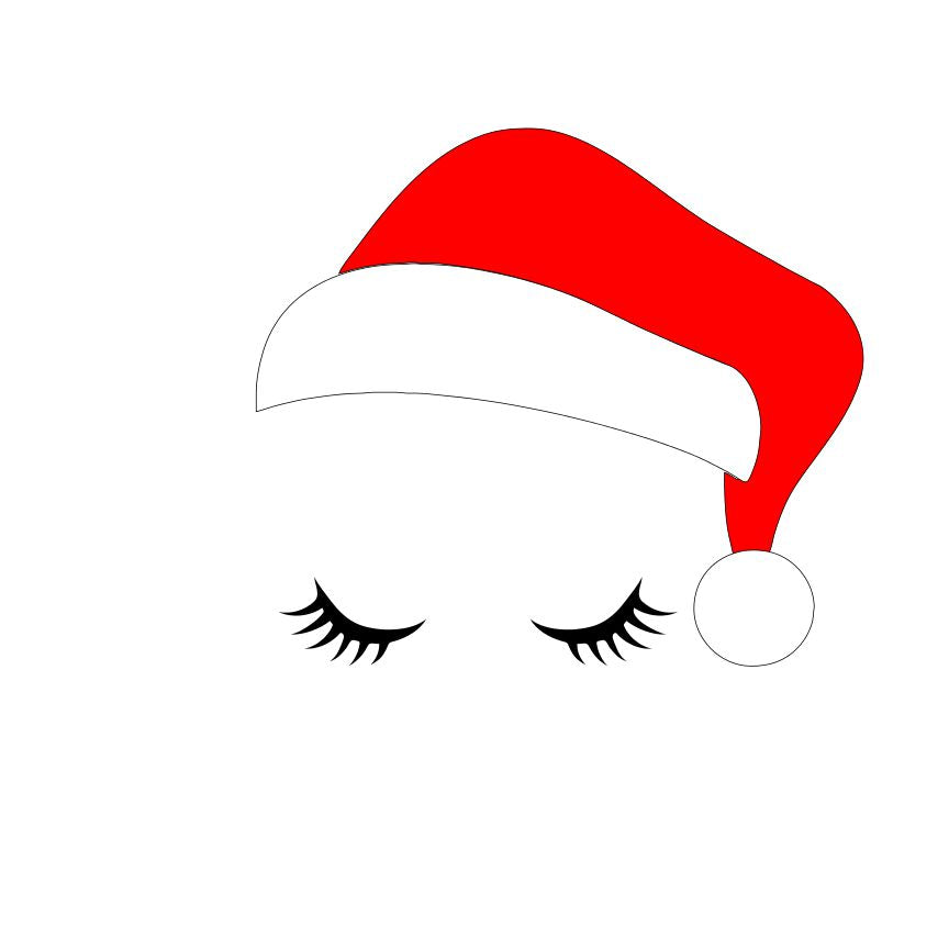 DAY 17 - Santa Eyes SVG File