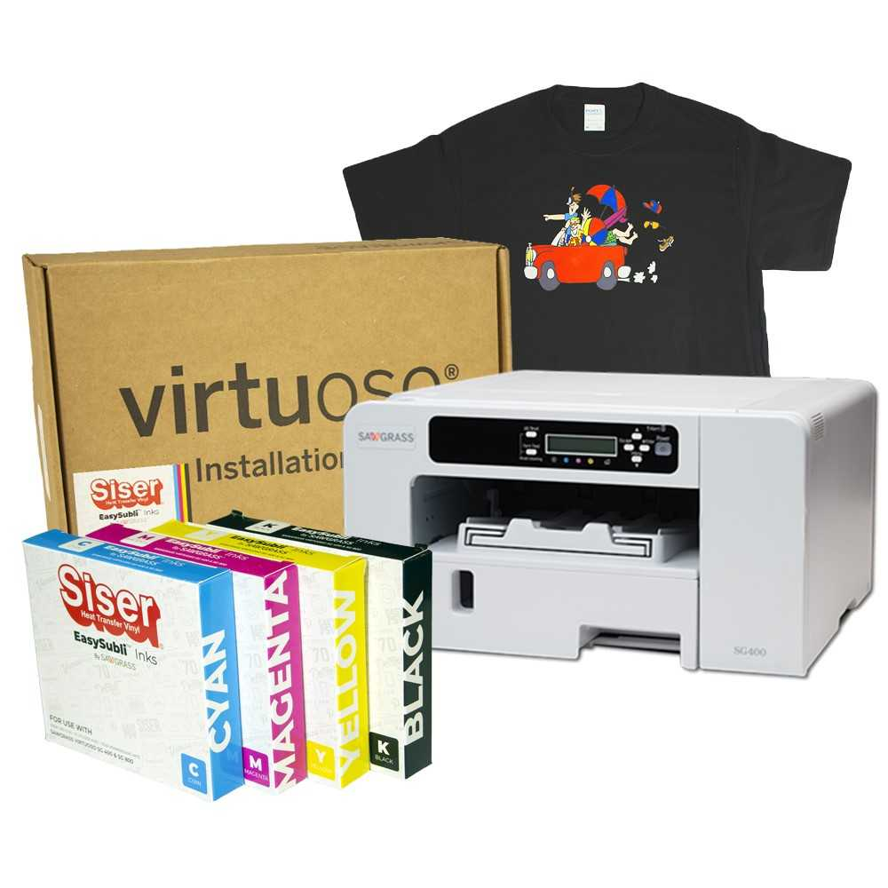 Sawgrass Virtuoso SG400 Siser EasySubli Printer Kit