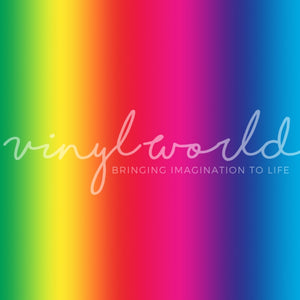 Vinyl World Pattern - Rainbow Collection