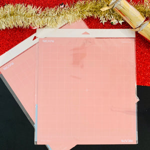 12inch x 12inch Fabric Grip Cutting Mat (1 mat - Pink)