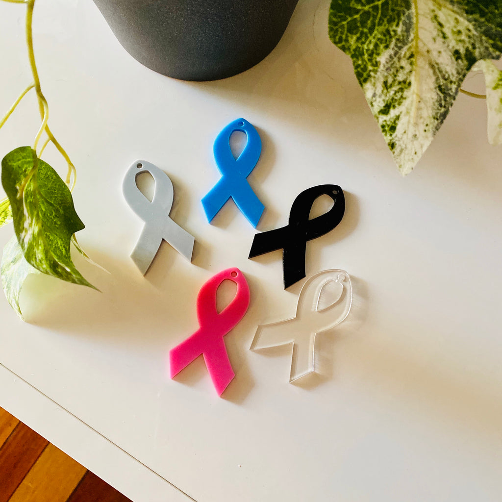 Acrylic Awareness Ribbon